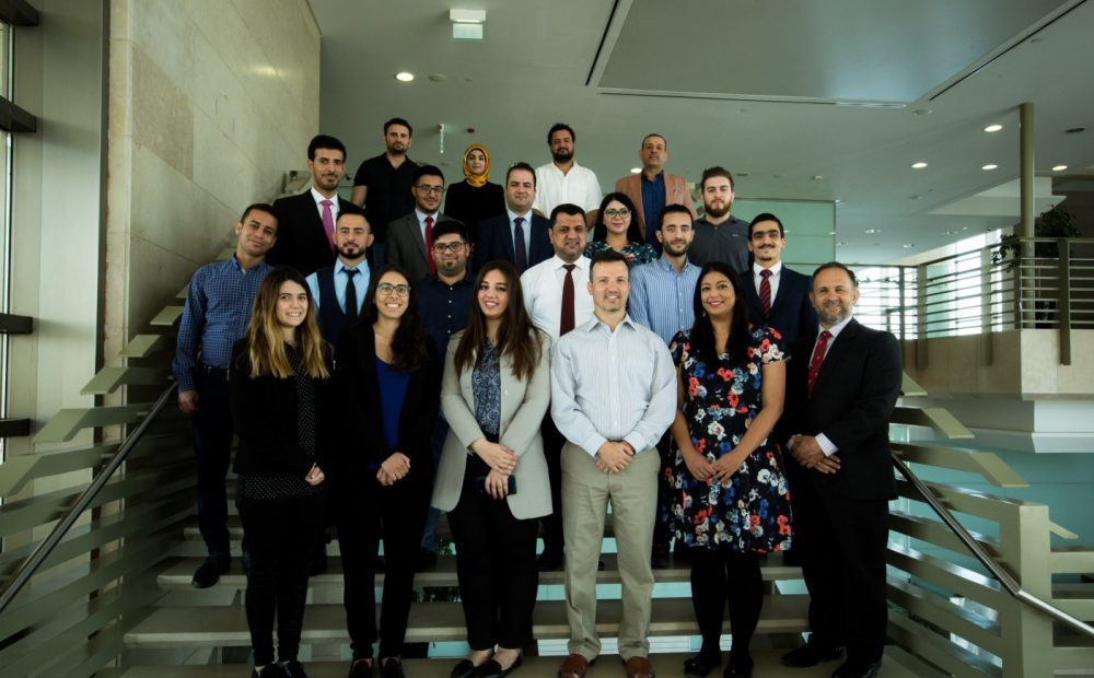 The 2017/2018 Iraq Fellows Graduate