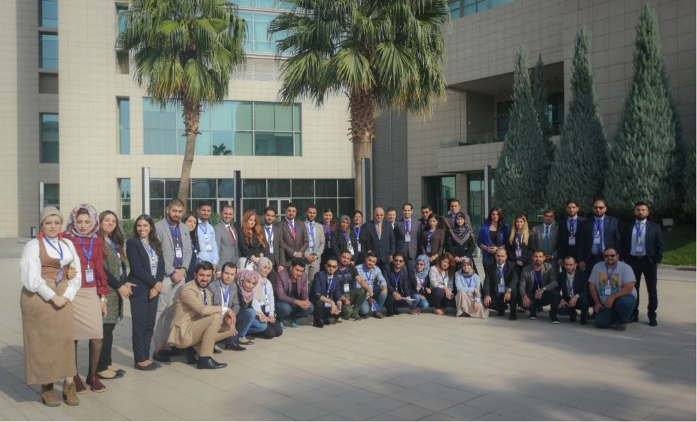 The 2018/19 Class of Fellows Have First Training, Participate in MERI Forum